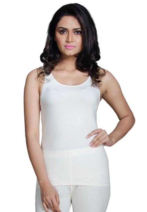 Femigo Color White Camisole C-603