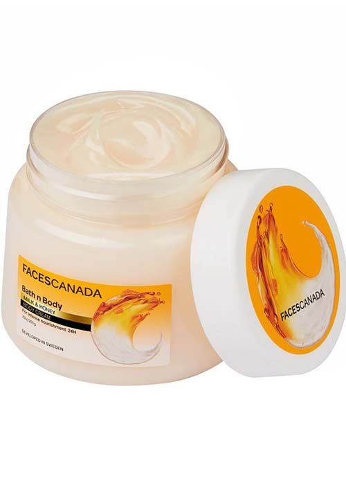 Faces Canada Bath & Body Cream
