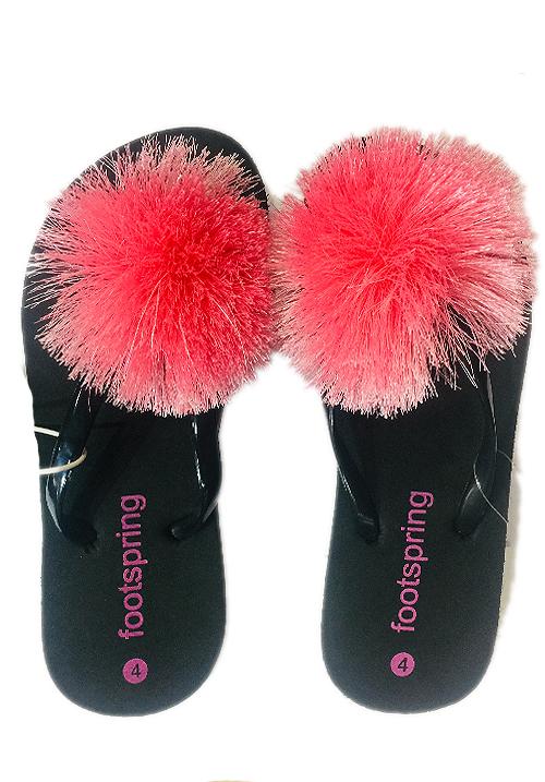 Essentials Pink Flower Footwear