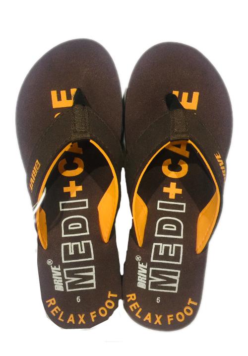 Essentials brown printed footwear
