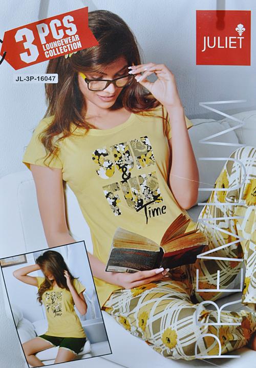 Juliet 3 Piece Lounge Wear 16047