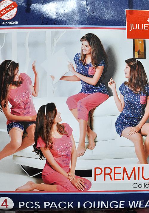 Juliet 4 Piece Set Lounge Wear 16340