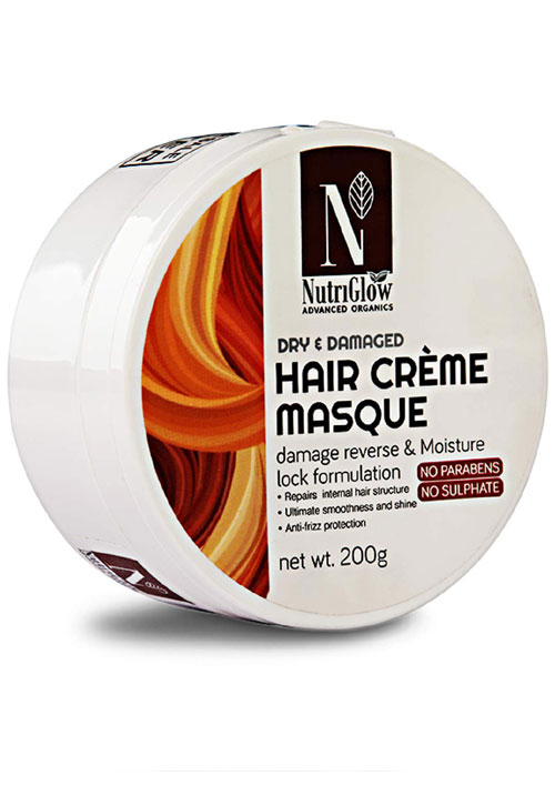 Nutriglow Dry & Demaged Hair Creme Masque