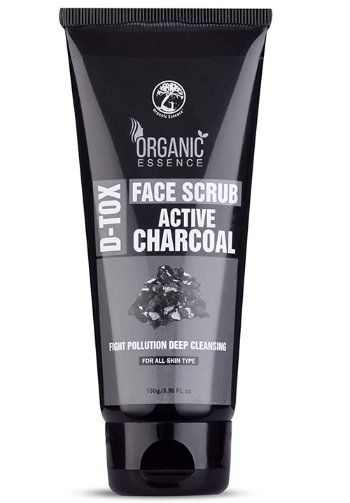 Organic Essence Active Charcoal Face Scrub