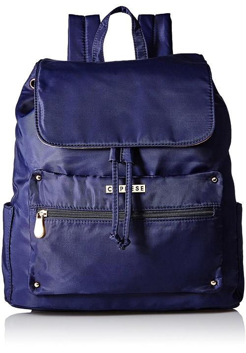Caprese Daisy Shoulder Bag Navy