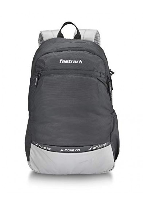 Fastrack 30 Ltrs Black Casual Backpack