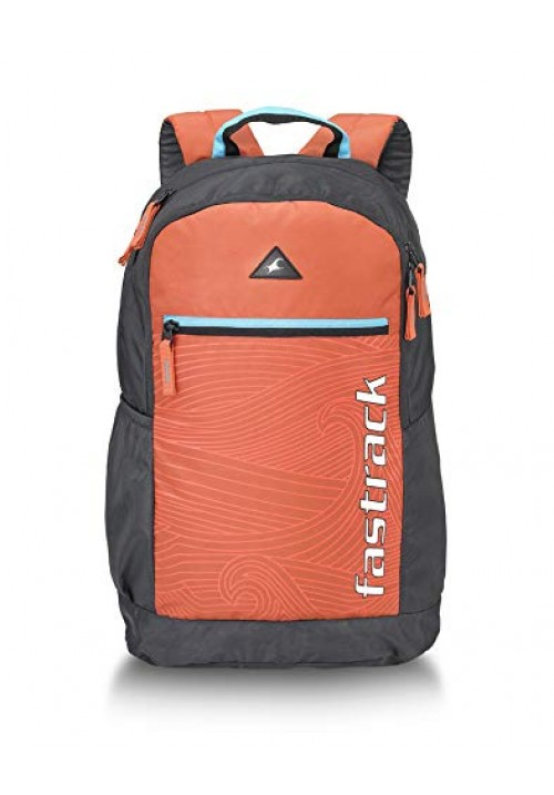 Fastrack 25 Ltrs Orange Casual Backpack