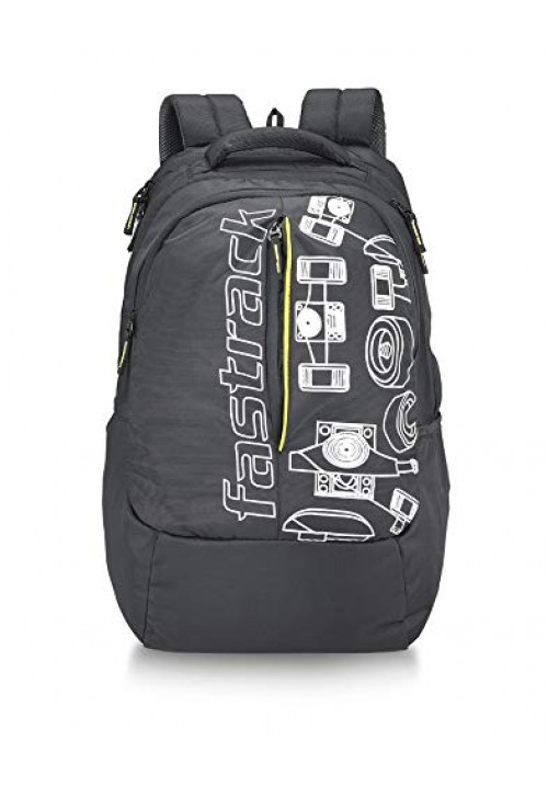 Fastrack 35 Ltrs Black Casual Backpack