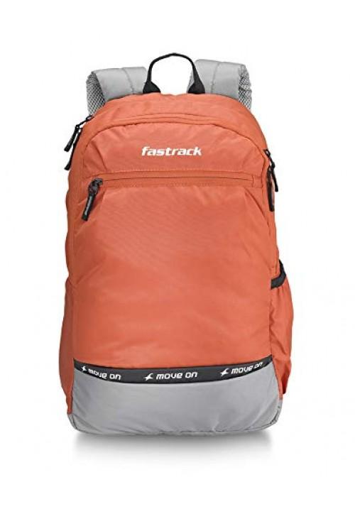 Fastrack 30 Ltrs Orange Casual Backpack
