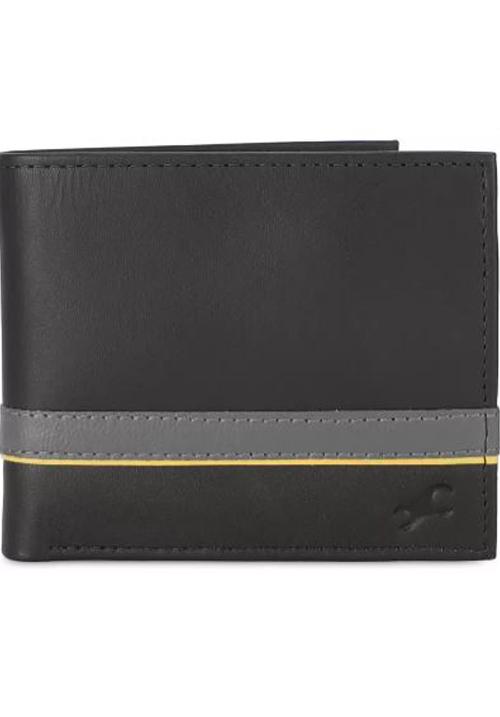 Fastrack Men Brown Leather Wallet