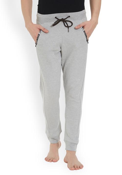 Fcuk Men Knit Pant Grey FKPA04
