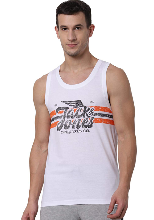Jack and Jones Fly Printed Vest