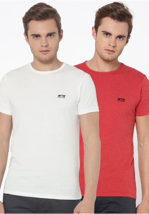 Jack and Jones Round T-Shirts 2PC