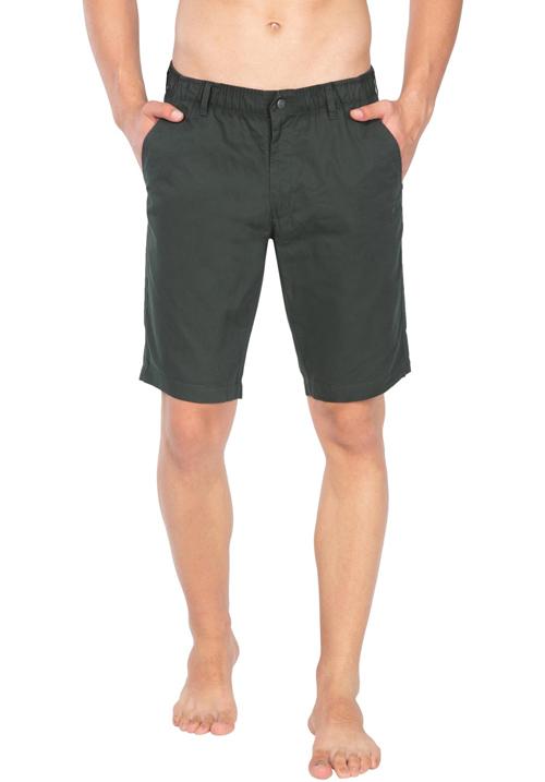 Jockey Straight Fit Shorts FOGRN 1203