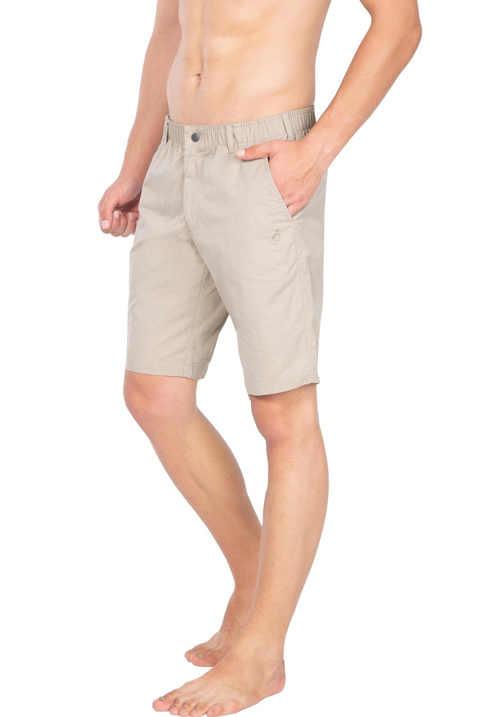 Jockey Straight Fit Shorts Khaki 1203