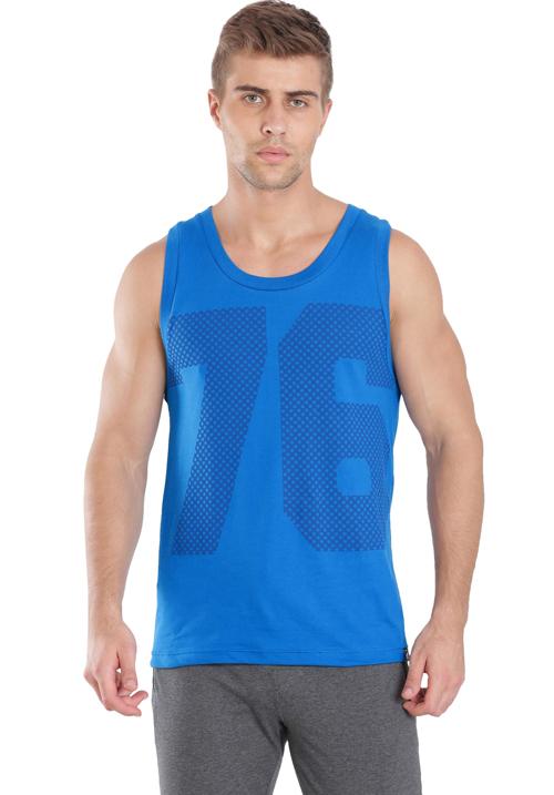 Jockey Tank Top Neon Blue 9928