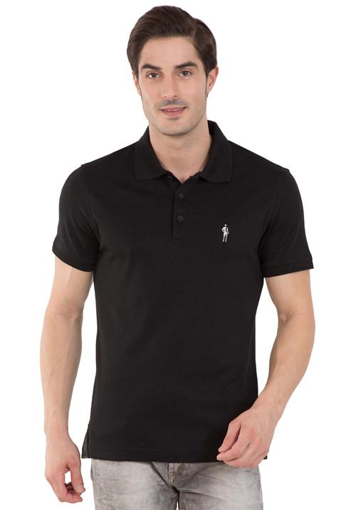 Jockey Polo T-Shirt Black 3912