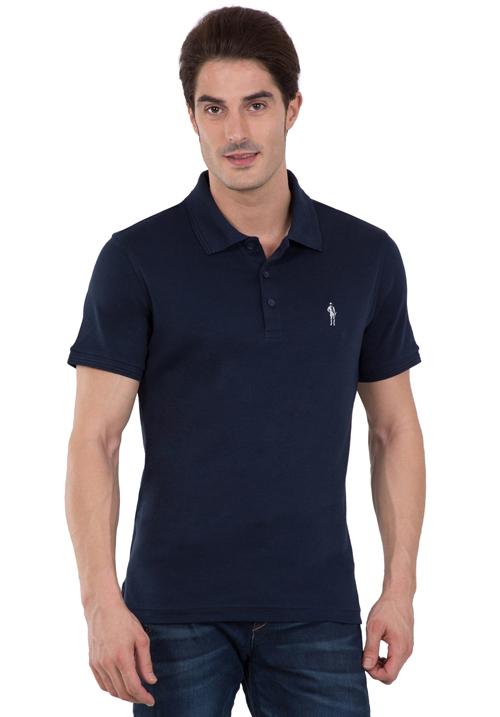 Jockey Polo T-Shirt Navy 3912