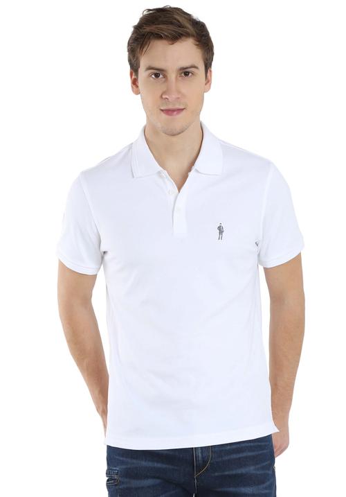 Jockey Polo T-Shirt White 3912