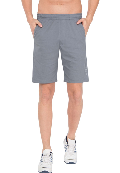 Jockey Straight Fit Shorts Grey SP26
