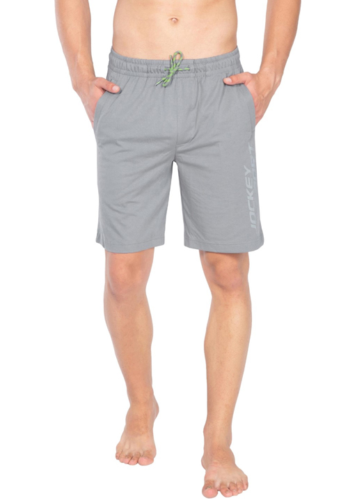 Jockey Straight Fit Shorts Grey SP32