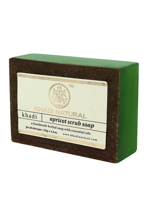 Khadi Natural Apricot Scrub Soap