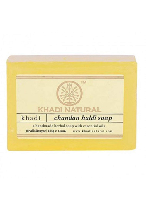 Khadi Natural Chandan Haldi Soap