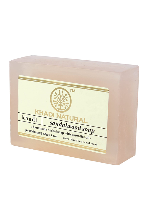 Khadi Natural Hand Made Sandalwood Soap