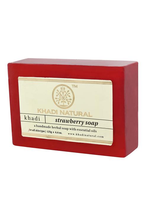 Khadi Natural Hand Made Strawberry Soap