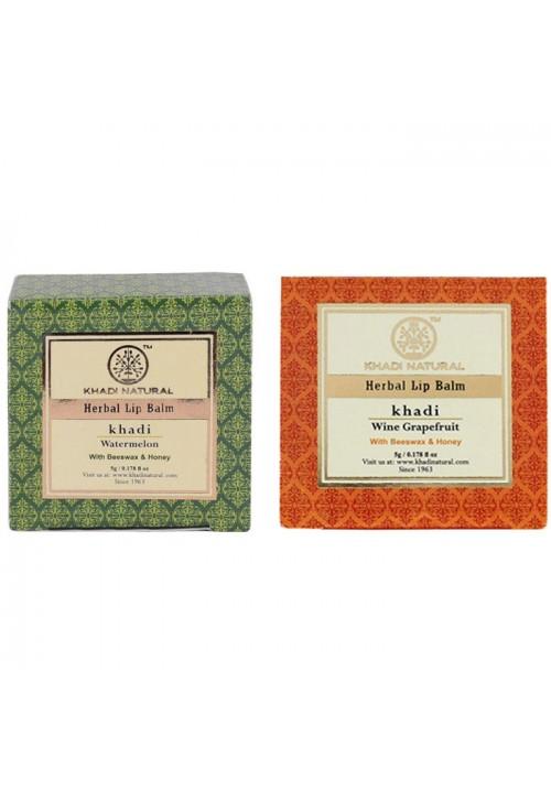 Khadi Natural Lip Balm (Pack of two)