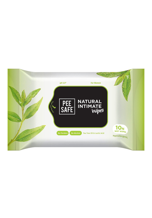 Pee Safe Intimate Wipes Pack of 10
