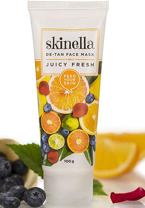 Skinella juicy fresh de tan face mask