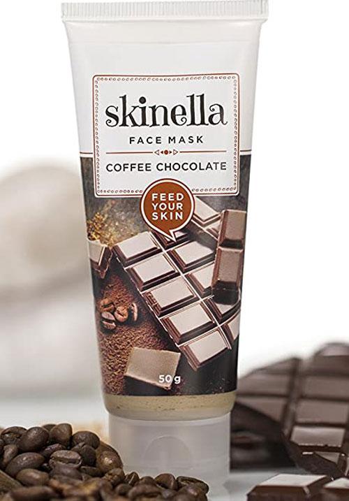 Skinella coffee chocolate face mask