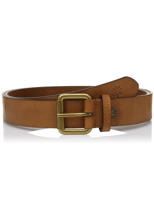 Woodland Leather Belt Color Tan